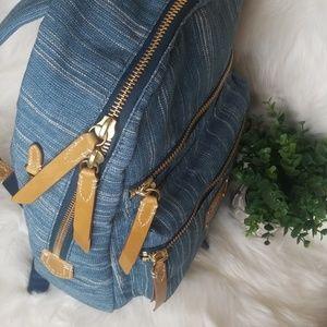 Frye Bags - NWT Frye Ivy Backpack DENIM SCHOOL BAG LARGE